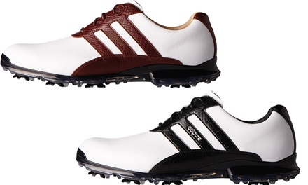 the latest 33a6f 10f02 Adidas Mens Leather Golf Shoes  Groupon Goods