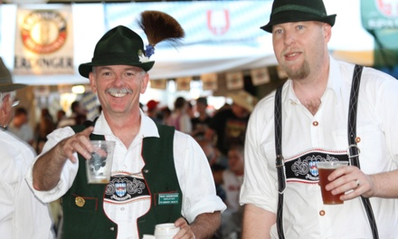 $12 for Four Groupons, Each Good for One Entry to Choctaw Oktoberfest, September 4–12 ($20 Total Value)