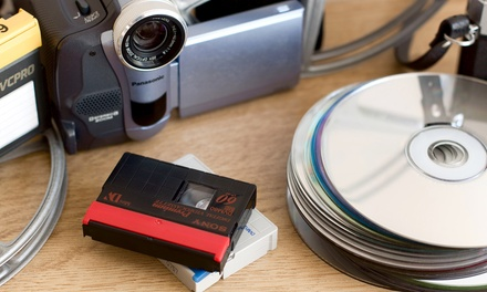 One, Three, or Five Video to DVD Transfers at Photo King (Up to 61% Off)