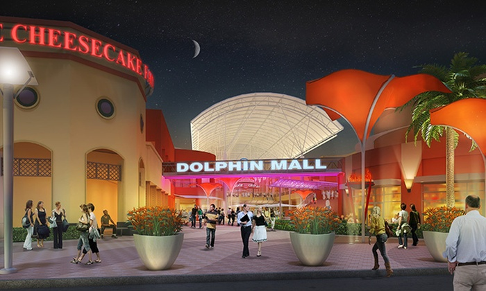 Dolphin Mall - North Westside: Up to 56% Off Mall package at Dolphin Mall