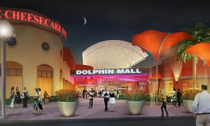 Dolphin Mall: Up to 56% Off Mall package at Dolphin Mall