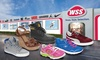 WSS Footwear - Fresno: Shoes and Accessories at WSS Footwear (Up to 50% Off). Two Options Available.