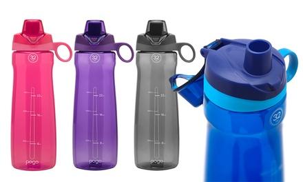 f0066af695 Pogo 32 Oz. BPA-Free Flip-Top Water Bottle (2-Pack) | Groupon