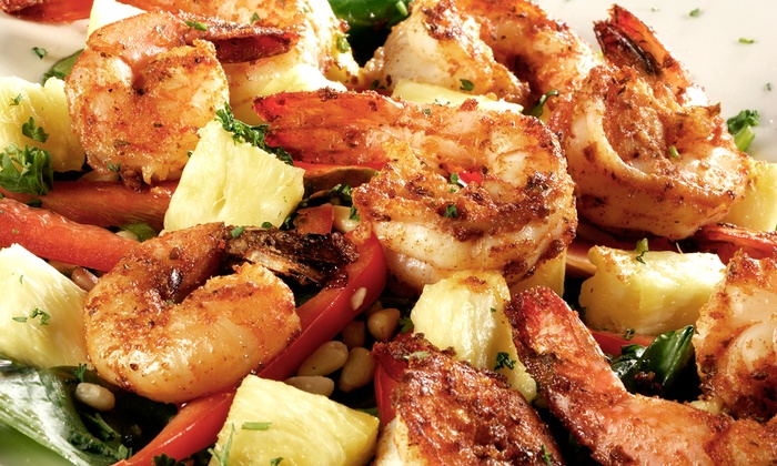 Blue Hawaii Shrimp & Seafood - Diamond Head - Kapahulu - St. Louis: $10 for $20 Worth of Seafood for Two at Blue Hawaii Shrimp & Seafood