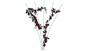 National Metal Industries: $49 for Five-Spoke PVC Trellis at National Metal Industries ($90 Value)