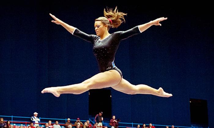 University of Arizona Women's Gymnastics - McKale Memorial Center: University of Arizona Wildcats Women's Gymnastics Meet at McKale Center on Saturday, January 12 (Up to $16 Value)