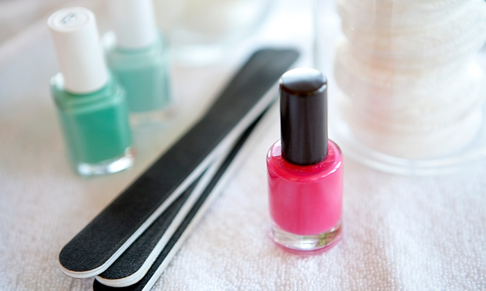 Velva at Halo Studios - Omaha: One or Two Shellac Manicures at Halo Studios