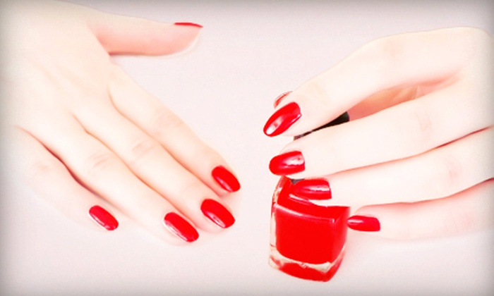 Present Nail Spa - Falls Church: One or Three Tangerine Tango Spa Manicures at Present Nail Spa (Up to 53% Off)
