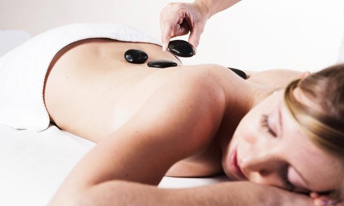 Calzo Serene Massage - Attleboro: Three 60-Minute Hot Stone Massages at Calzo Serene Massage (45% Off)