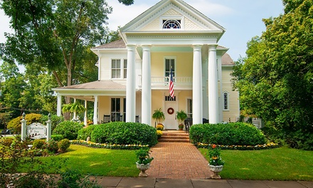 2-Night Stay for Two in a Room or Suite at Antebellum Inn in Milledgeville, GA. Combine Up to 4 Nights from Antebellum Inn -