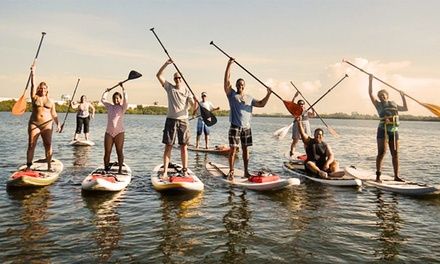 Two-Hour Sunset Paddleboard Tour for Two or Four at Driftwood Paddle Adventures (Up to 51% Off)