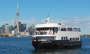 Cruise Toronto: Dinner or Brunch Cruise on the Obsession III from Cruise Toronto (Up to 58% Off)