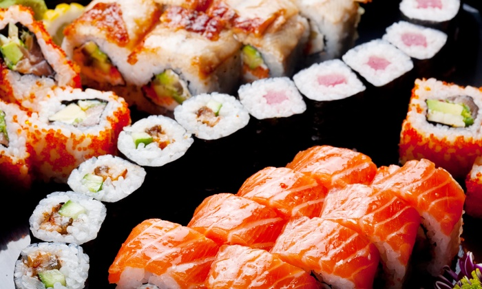 Hungry Samurai - Huntington Park: $7 Off Hungry Samurai Salmon Plate with 4 Piece Crunch Role, Salad and Rice at Hungry Samurai