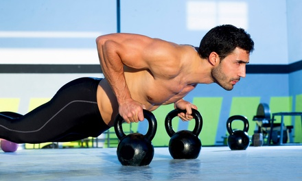 One Month of Unlimited CrossFit for One or Two at Black Hive Athletic (Up to 74% Off)