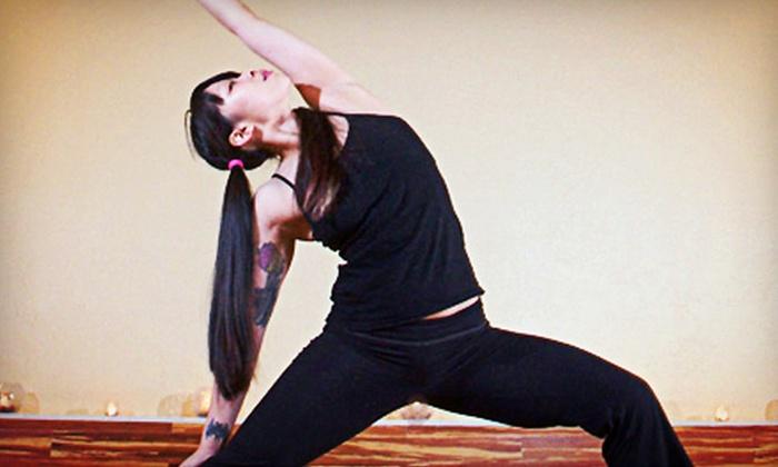 Pleasure Point Yoga - Pleasure Point: 10 Vinyasa Flow Classes, or One Month of Unlimited Vinyasa Flow Classes at Pleasure Point Yoga (Up to 74% Off)