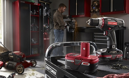 $15 for $30 Worth of Tools from Craftsman.com