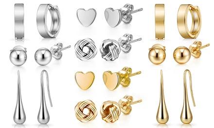 Up to Ten Pairs of Philip Jones Earrings