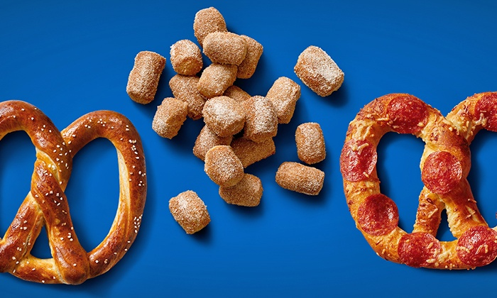 Auntie Anne's - Multiple Locations: Three Pretzel Items and Optional Three Lemonades at Auntie Anne's (Up to 60% Off)