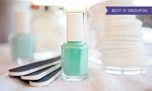 Victoria's Nails & Spa: Pedicure with Choice of Manicure, Gel Manicure, or Swedish Massage at Victoria's Nails & Spa (Up to 55% Off)