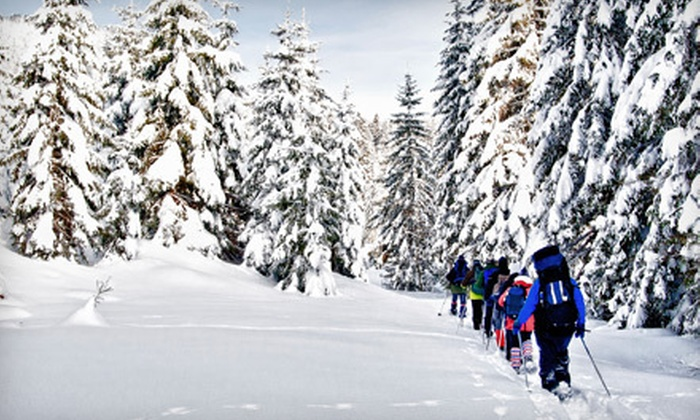 Still River Outfitters - Bolton: Snowshoeing or Kayaking Adventure from Still River Outfitters (Up to 56% Off). Two Options Available.