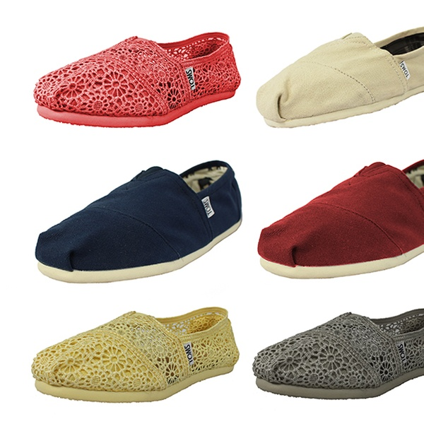 99eb56c3625 From  34 for TOMS Canvas Shoes in Range of Designs and Colours (From  64.95  Value)