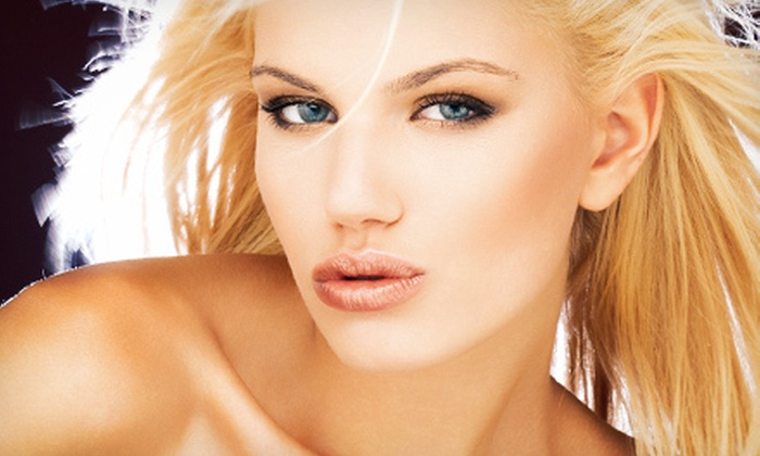 Beauty in Vegas - Summerlin: Full-Face Airbrush Makeover or Custom Spray Tan, both with Eyelash Extensions from Beauty in Vegas (Up to 80% Off)