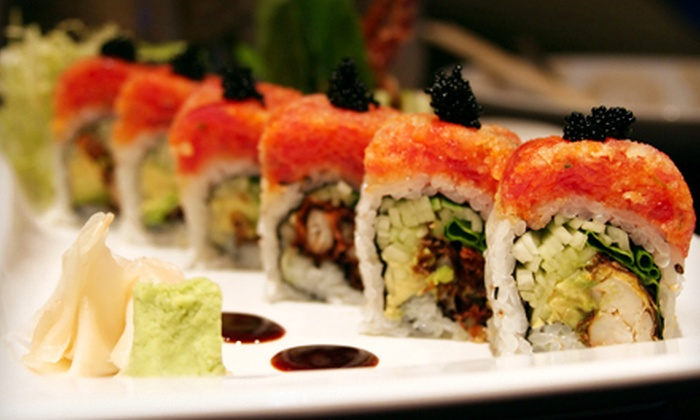 Shogun Japanese Steakhouse - Island Park: Sushi and Japanese Food at Shogun Japanese Steakhouse (Half Off). Two Options Available.