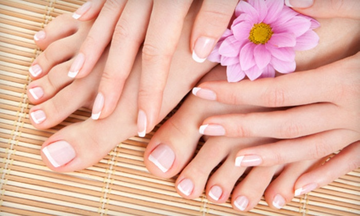 Pro Nails & Tan - Gainesville: Shellac Manicure and Signature Pedicure with Optional Facial or Mani-Pedi and Facial at Pro Nails & Tan (Up to 52% Off)
