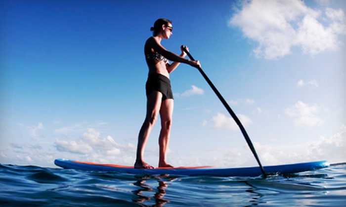 CamRock Café & Sport - Cambridge: Canoe, Kayak, or Standup Paddleboard Rental for Two or Four from CamRock Café & Sport in Cambridge (Up to 55% Off)