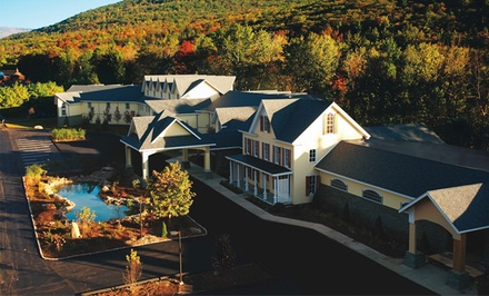 Stay for Two with Dining Credit at Emerson Resort & Spa in Mount Tremper, NY. Combine Up to 2 Nights.