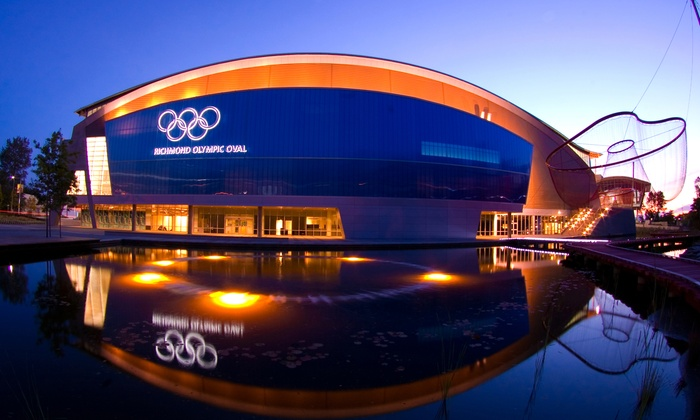 Richmond Olympic Oval - Richmond Olympic Oval: C$9 for One-Day Pass for Gym Facilities and Fitness Classes at Richmond Olympic Oval (C$16.50 Value)
