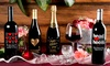 Custom-Etched Bottle of Wine: Custom-Etched Bottle of Wine from Miramonte Winery