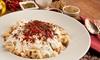 Türkische Manti, Tee und Baklava