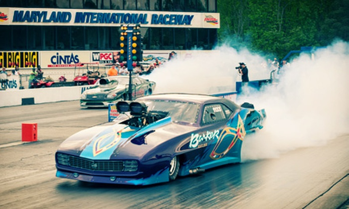 Maryland International Raceway - 4, Chaptico: Drag, Superbike, and Nostalgia Events for Two at the Maryland International Raceway (Half Off). Five Options Available.