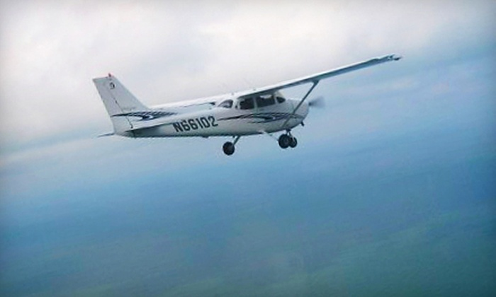 Premier Flight Academy - Multiple Locations: $79 for Flight Lesson with Ground Training and 30-Minute Flight at Premier Flight Academy ($173.70 Value)