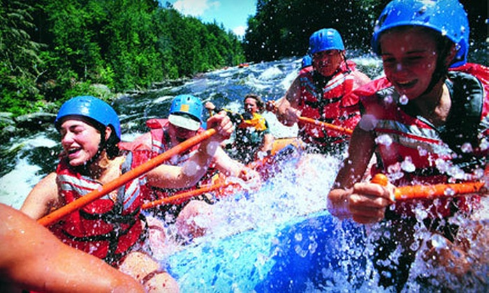 Kosir's Rapid Rafts - Athelstane: Rafting Trips for Two or Four on Peshtigo or Menominee River from Kosir's Rapid Rafts in Silver Cliff (Up to 54% Off)