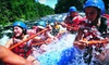 Kosirs Rapid Rafts - Athelstane: Rafting Trips for Two or Four on Peshtigo or Menominee River from Kosir's Rapid Rafts in Silver Cliff (Up to 54% Off)