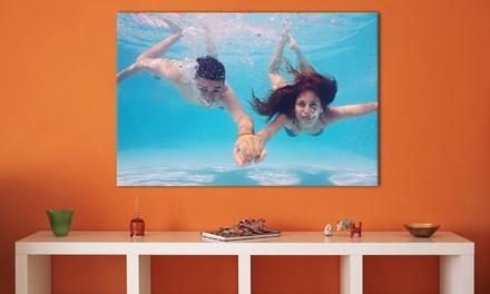 Impressão em tela disponível em três tamanhos diferentes desde 9,99€