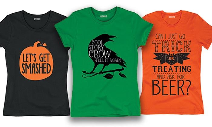 Women's Halloween T-Shirts | Groupon Goods