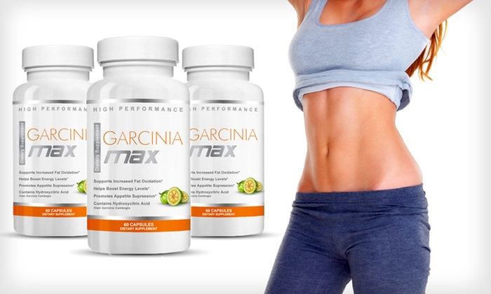 Garcinia Max Weight-Loss Supplement: One, Two or Three Bottles of Garcinia Max Weight-Loss Supplement (Up to 81% Off). Free Shipping.