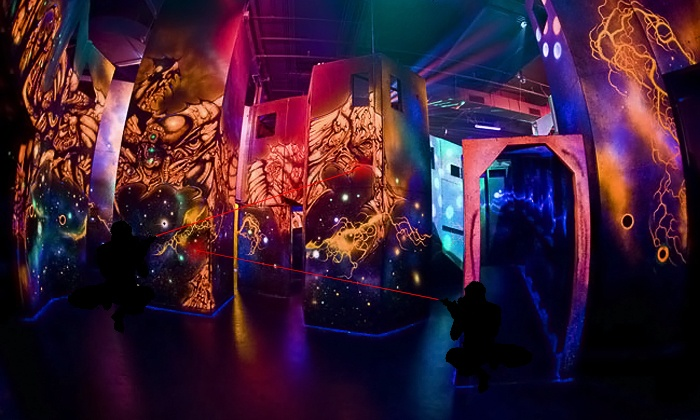 Stratum Laser Tag - Mesa: Three Laser Tag Games for One or Two or Three Hours of Unlimited Games for One at Stratum Laser Tag (Up to 63%)