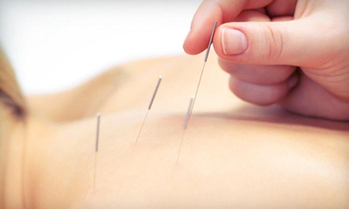 Meridian Wellness Center - Springdale - Glenbrook - Belltown: One or Three 60-Minute Acupuncture Sessions at Meridian Wellness Center (Up to 72% Off)