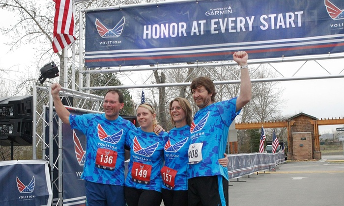 Volition America - Riverside Park: $49 for Volition America Half Marathon Registration for One ($85 Value)