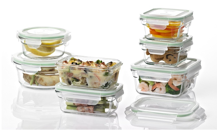 ... Glasslock Food Storage Container Sets: Glasslock Food Storage Container  Sets