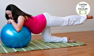 Clínica Bem Cuidar Gestante: Clínica Bem Cuidar Gestante - Sudoeste : 1, 2 ou 3 meses de  aulas de pilates para gestantes
