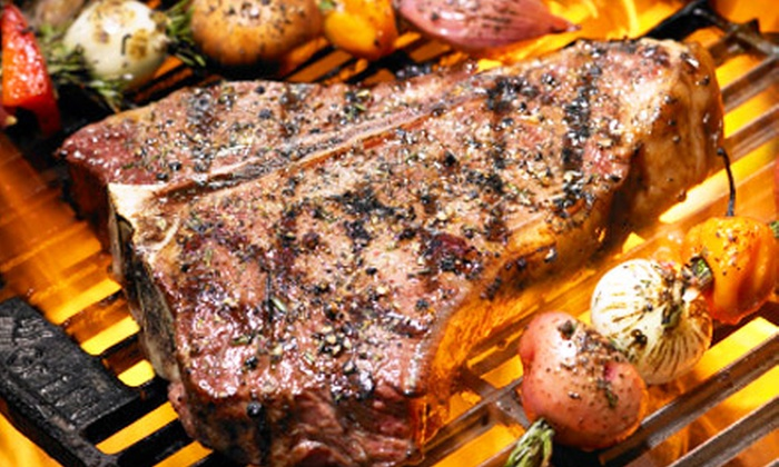 Red Mill Inn - Harris Hill: Steak-House Cuisine at Red Mill Inn (Up to Half Off). Two Options Available.