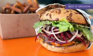Burger 55: Gourmet Burgers and Fries at Burger 55 (40% Off). Two Options Available.