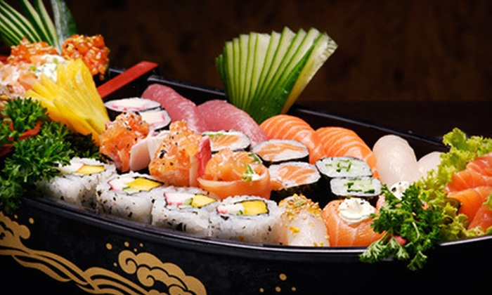 Sushi Genki - Penticton: $12 for a 40-Piece Take-Out Sushi Party Tray at Sushi Genki in Penticton ($24.99 Value)