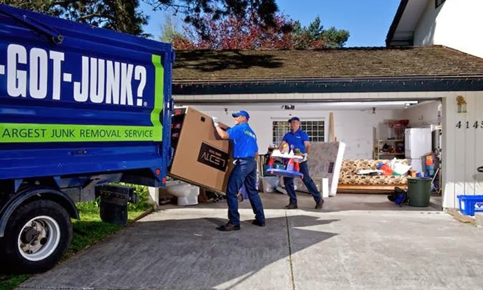 1-800-Got-Junk? - Cincinnati: $109 for 1/6 of a Truck's Worth of Junk Removal from 1-800-GOT-JUNK? ($218 Value)