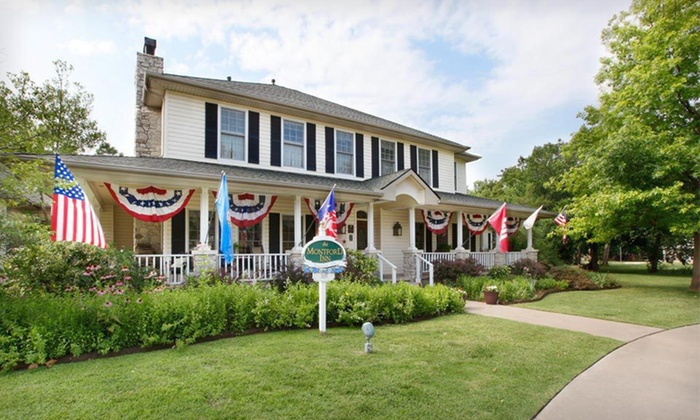 Montford Inn Bed and Breakfast - Norman: One- or Two-Night Stay for Two at Montford Inn Bed and Breakfast in Greater Oklahoma City. Six Options Available.
